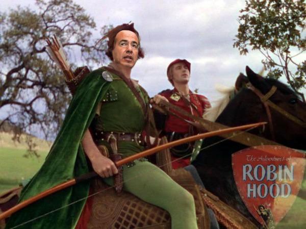 Le Président Calderón se prend pour Robin Hood et prétend à partir de 2010 voler les riches pour donner aux pauvres...